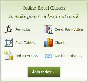Excel School Online Training Program by Chandoo