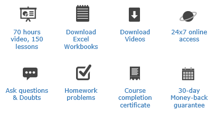 Power Pivot & Excel School course benefits - outlined