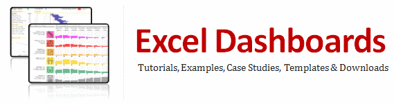 Excel Dashboards Templates Tutorials Downloads And Examples - Simple excel dashboard templates